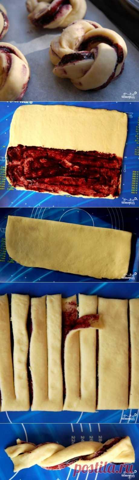 Пирожки с черникой - пошаговый кулинарный рецепт на Повар.ру