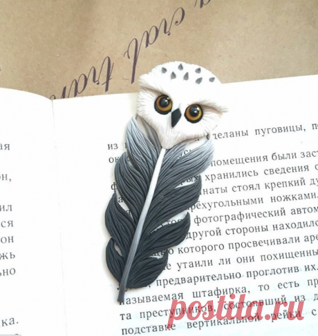 Совушка- закладочка по МК @sweet_sasha.s