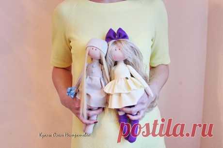 Интерьерные куклы-милашки от российской рукодельницы