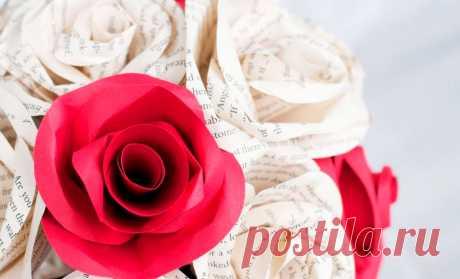 Простые розы из бумаги своими руками, 11 мастер-классов Как сделать простые и оригинальные розы из цветной и гофрированной бумаги своими руками, 11 пошаговых мастер-классов с фото примерами.