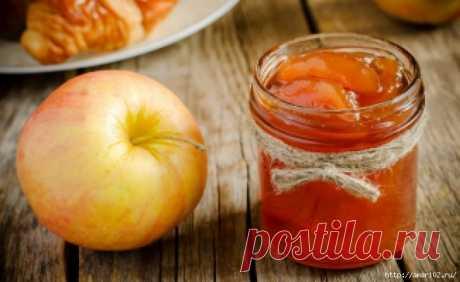 Яблочные заготовки впрок