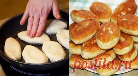 Βκycныe пирожки на сковороде Недавно вспомнила прекрасный вкус бабушкиных пирожков, от мамы взяла рецепт и теперь хочу поделиться с вами. Попробуйте, не пожалеете!