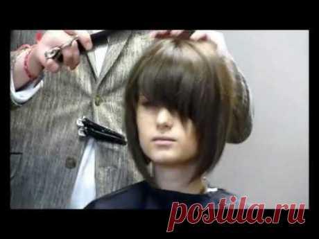 лучшее каре в мире. парикмахер стилист Артем Любимов