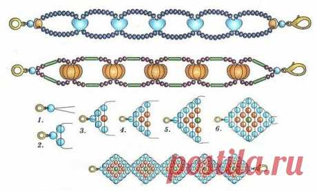 Плетение из бисера для начинающих. Фото, схемы: цветы, животные, фигурки для детей, деревья, украшения, браслеты