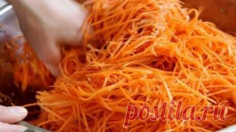 Как я давно искала именно этот рецепт моркови по-корейски. Самый вкусный и самый лучший! - Узнал сам - расскажи другому Это очень вкусная морковь по-корейски. Я так давно искала именно такой рецепт. И теперь наконец-то нашла. Готовлю такую морковь довольно часто, и на праздничный стол, и в будние дни. Готовится морковь по-корейски очень быстро, главное соблюдайте все этапы приготовления, и вы ощутите — что это самая вкусная морковь, которую вам доводилось пробовать. Ингредиенты: морковь — …