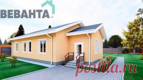 Одноэтажный частный дом общей S=107,7 м2 с 3 спальнями   Блоги о даче и огороде, рецептах, красоте и правильном питании, рыбалке, ремонте и интерьере