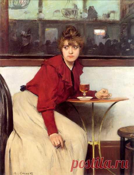 (7) Испанский живописец Рамон Касас (1866-1932). Часть 1: philologist — ЖЖ