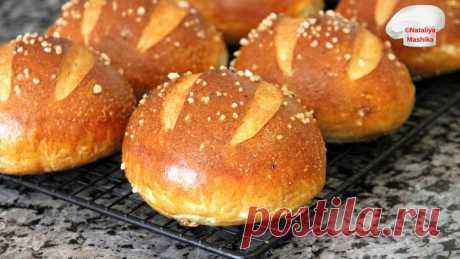 ПОЛНЫЙ ВОСТОРГ!! БУЛОЧКИ PRETZELS. Мягкий КАК ПУХ мякиш и ХРУСТЯЩАЯ корочка сведут с ума каждого! #nataliyamashika #pretzels #булочки Друзья, привет! :)Сегодня у меня булочки PRETZELS-необыкновенно вкусные булочки с воздушным мякишем и хрустящей корочкой....