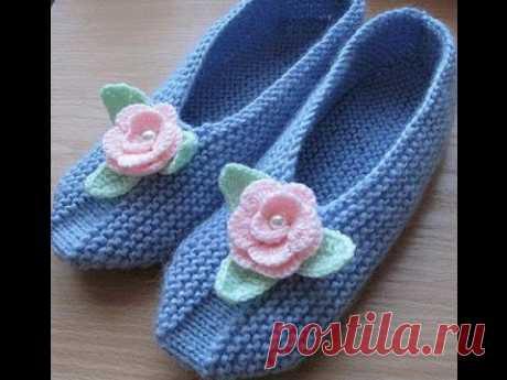 Very modern and beautiful socks of a slipper