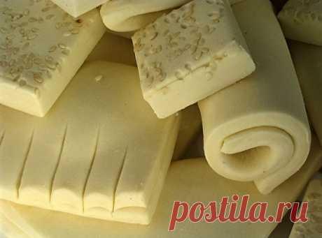 Слоеное тесто быстрого приготовления рецепт – выпечка и десерты. «Еда»