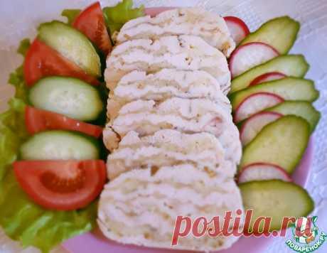 Ленивый куриный рулет с сыром – кулинарный рецепт