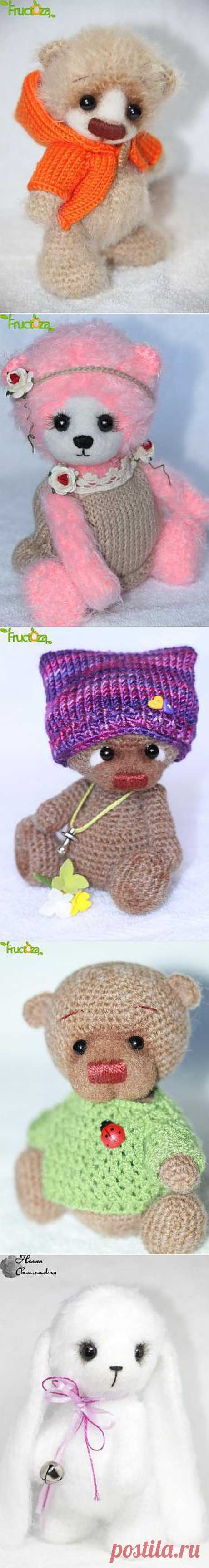 Игрушечки! - Галерея - Форум почитателей амигуруми (вязаной игрушки)