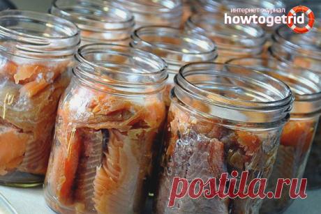 Как приготовить рыбные консервы в домашних условиях