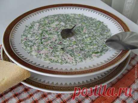 Окрошка на минералке / Рецепты с фото