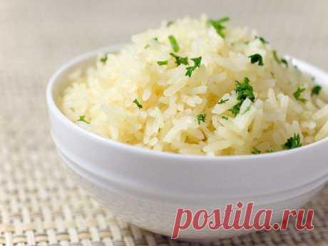 Как приготовить идеальный рассыпчатый рис..... - Простые рецепты Овкусе.ру