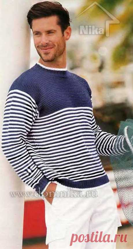 El jersey de hombre por los rayos en el estilo de mar 2015 - la foto y la descripción gratis