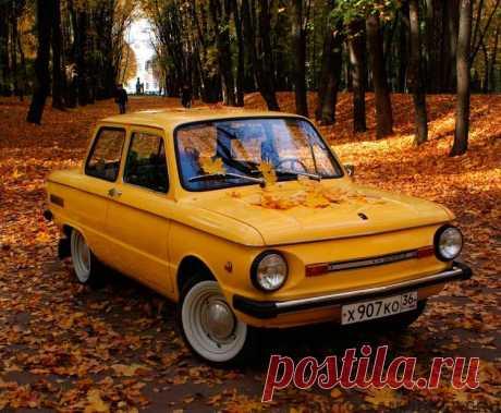 """Восстановленный автомобиль ЗАЗ-968М """"Запорожец"""" (25 фото) Автомобиль ЗАЗ-968М """"Запорожец"""" 1989 года выпуска был отремонтирован и восстановлен в первоначальное состояние. Собственно состояние автомобиля после восстановления показано на этих фото:"""