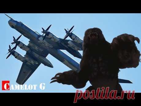 """""""Медведи"""" в небе: как Ту-95 сбивали истребители НАТО! Документальный фильм Camelot G"""