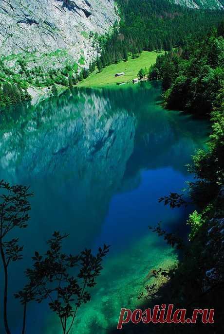 Lake Obersee, Германия / Путешествия / Европа / Pinme.ru / Катерина