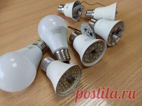Причины частого перегорания светодиодных ламп и способы их устранения | Энергофиксик | Яндекс Дзен