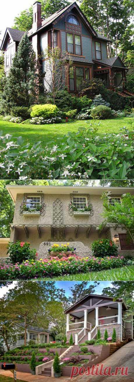 Дизайн входа в дом — 11 идеи для оформления сада