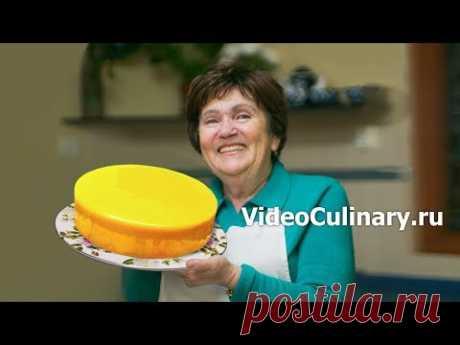 Торт Лимонный мусс - Рецепт муссового торта от Бабушки Эммы