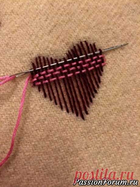 Интересные стежки для вышивки