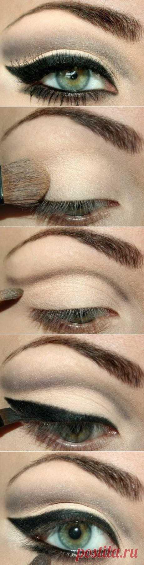 Фото-урок макияжа.