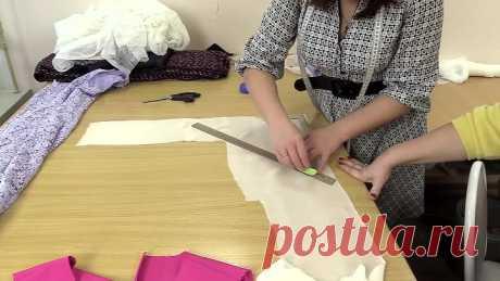 Мастер-класс по шитью. Учимся правильно обрабатывать горловину косой бейкой из ш