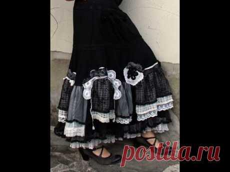 ИДЕИ - ПЕРЕДЕЛКИ - юбки в бохо стиле