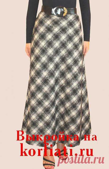 Мастер-класс по шитью юбки колокол от Школы шитья Анастасии Корфиати