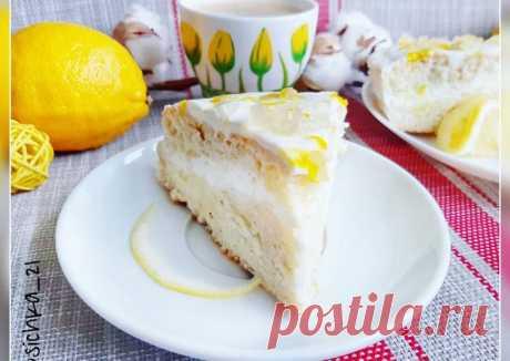 (19) Торт Лимонное облако - пошаговый рецепт с фото. Автор рецепта Наташа . - Cookpad