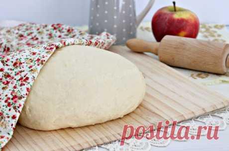 Чудо-тесто: всегда удачное. Идеальное для пиццы и пирогов | Бюджетные и простые рецепты | Яндекс Дзен