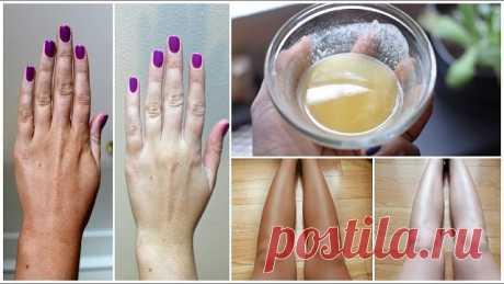 Теперь это мой любимый метод, кожа белоснежная, гладкая-гладкая! | OK.RU
