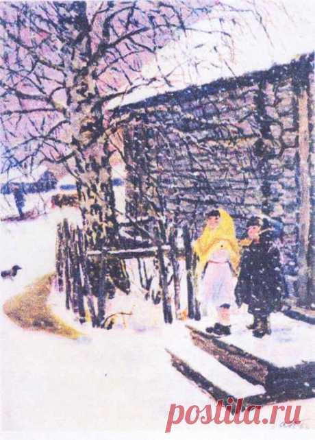 Русская зима в творчестве известных живописцев