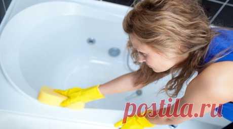 Такой чистоты ты еще не видел! Белоснежная ванна за 5 минут.