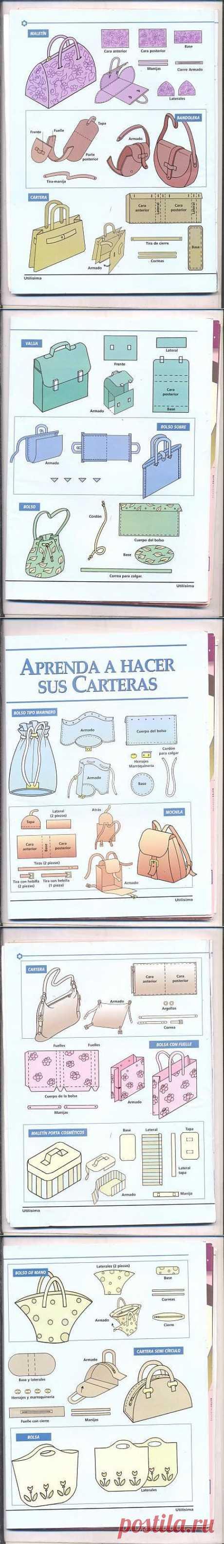 Los patrones simples de las bolsas