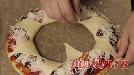 Рецепт дрожжевой пиццы Корона