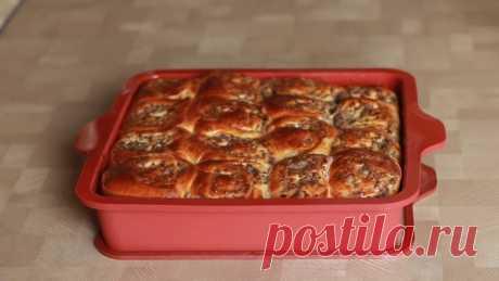Оригинальный пирог - мясные синнабоны рецепт с фото
