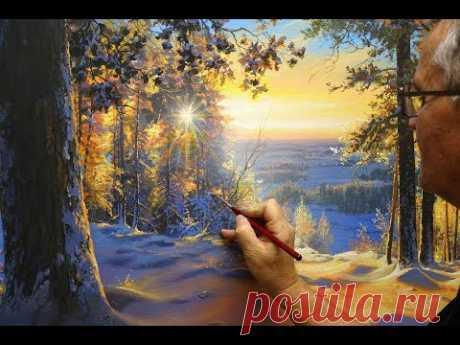 """Christmas Morning"" Part 1. Artist - Victor Yushkevich."