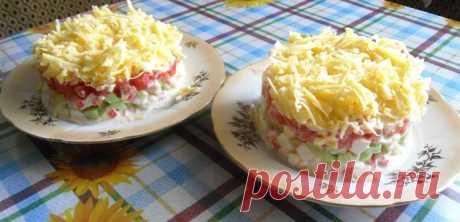 Салат «Безумный» - Простые рецепты Овкусе.ру