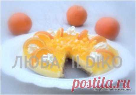 Апельсиновый торт | Четыре вкуса