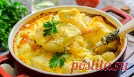 Картофель по-княжески – гости всегда просят рецепт! Просто, вкусно и очень необычно!