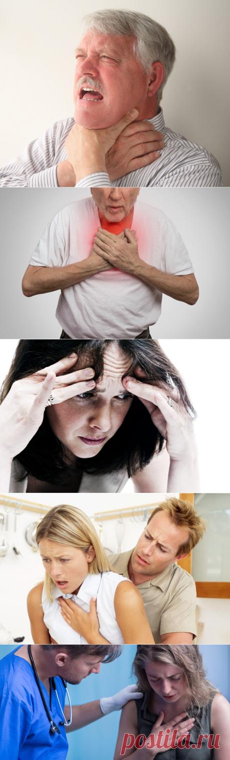 Ангинофобия: боязнь задохнуться, признаки, причины и лечение