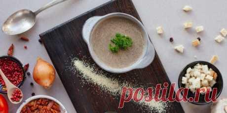 10 рецептов ароматных супов из шампиньонов