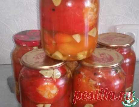 Маринованный перец с капустой – кулинарный рецепт(***)