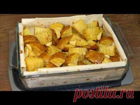Такой вкусный картофель я не пробовала даже в ресторане! Чудесный способ приготовления!