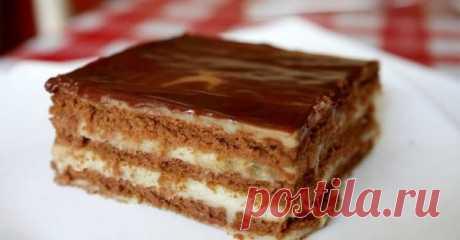 Бананово-шоколадный торт без выпечки за 30 минут! Безумно вкусный и нежный!   На здоровье!   Яндекс Дзен