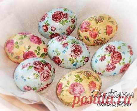 ¡Dekupazh de los huevos de Pascua \/ el Sexo débil!