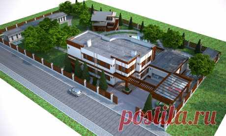 32455 - жилой дом вариант 22 - Галерея - Archi-CAT форум профессионалов